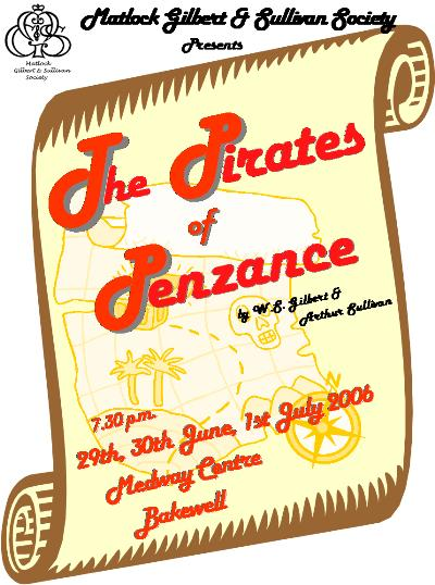 Pirates of Penzance Poster 2007