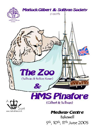 The Zoo & HMS Pinafore Poster 2005